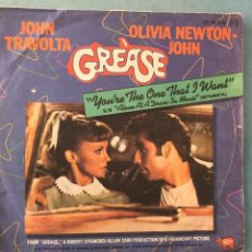 Discos de vinilo: GREASE - YOU,RE THE ONE THAT I WANT - RSO - 1978. Lote 163503834