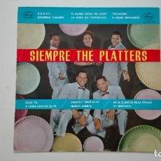 Discos de vinilo: SIEMPRE THE PLATTERS LP MERCURY RECORDS 1962. Lote 163506474