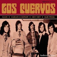 Discos de vinilo: EP LOS CUERVOS - LOS CUERVOS / VINILO / ED. LIMITADA Y NUMERADA MADMUA RECORDS 2019 / NUEVO. Lote 182680182