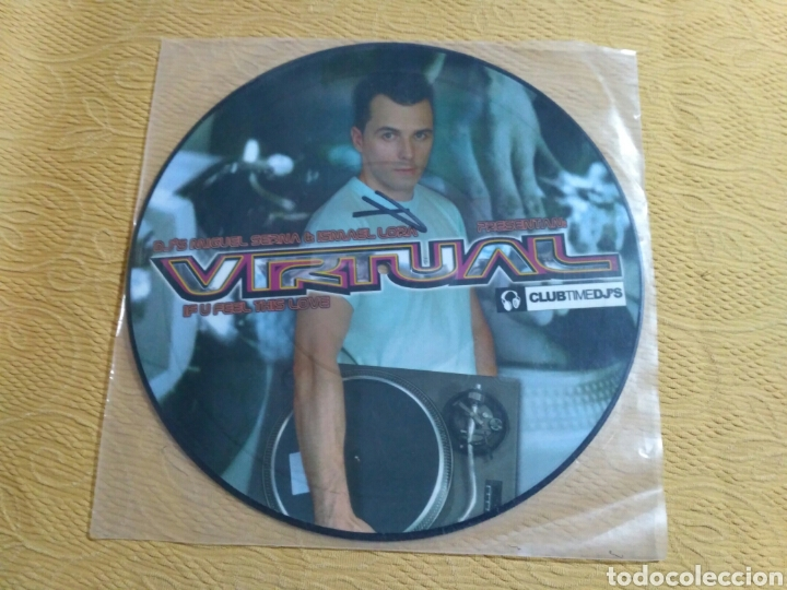Discos de vinilo: Miguel Serna & Ismael Lora presentan Virtual - If U Feel This Love - Foto 1 - 191701651