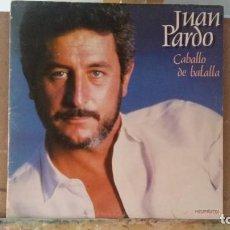 Discos de vinilo: *** JUAN PARDO - CABALLO DE BATALLA - DOBLE LP 1983 (DOBLE PORTADA) - LEER DESCRIPCIÓN. Lote 163534138