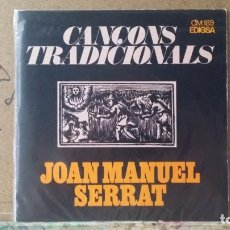 Discos de vinilo: ** JOAN MANUEL SERRAT - CANÇONS TRADICIONALS - EL BALL DE CIVADA +3 - EP 1972 - LEER DESCRIPCIÓN. Lote 163536494