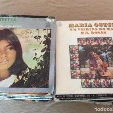 Discos de vinilo: LOTE 60 SINGLES, CANTANTES Y GRUPOS ESPAÑOLES AÑOS 70.. Lote 163539438