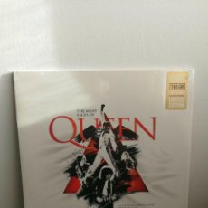 Discos de vinilo: QUEEN - LP RED - MANY FACES OF QUEEN - LIMITED EDITION 2000 UNT - NEW & SEALED . Lote 163544142