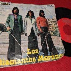 Dischi in vinile: LOS DIAMANTES MORENOS BASTIMO LAMOR AMORE / ¡OH! SEÑOR 7 SINGLE 1975 ACROPOL RUMBAS RUMBA RARO. Lote 163546830