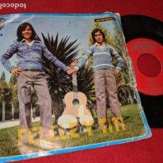 Dischi in vinile: FELELE Y TITI 23 MORITAS/CON MI CABALLO REPICO 7 SINGLE 1975 ACROPOL RUMBA RUMBAS. Lote 163548154