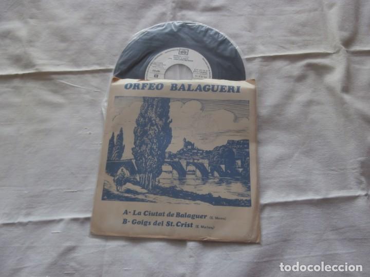 ORFEO BALAGUERI 7´SG LA CIUTAT DE BALAGUER + 1 (1978) DISCO PROMOCIONAL **VINILO NUEVO** (Música - Discos - Singles Vinilo - Otros estilos)