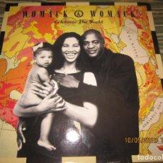 Discos de vinilo: WOMACK & WOMACK - CELEBRATE THE WORLD MAXI 45 R.P.M. - ORIGINAL ESPAÑOL - ISLAND 1989 - MUY NUEVO (5. Lote 163550190
