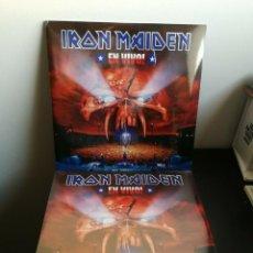 Discos de vinilo: 2LP IRON MAIDEN - EN VIVO - 2 LP - NEW & SEALED -. Lote 295769933