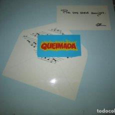 Discos de vinilo: QUEIMADA - PRA VOS MEUS AMIGOS LP - ORIGINAL ESPAÑOL - 21 RECORDS 1985 - MUY NUEVO (5). Lote 163552662