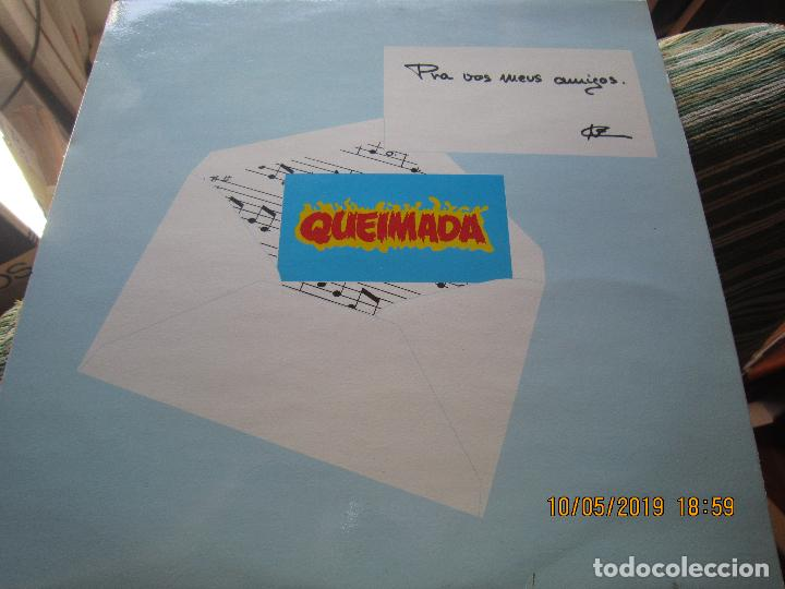 Discos de vinilo: QUEIMADA - PRA VOS MEUS AMIGOS LP - ORIGINAL ESPAÑOL - 21 RECORDS 1985 - MUY NUEVO (5) - Foto 16 - 163552662