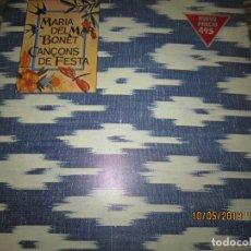 Discos de vinilo: MARIA DEL MAR BONET - CANÇONS DE FESTA LP - ORIGINAL ESPAÑOL - ARIOLA 1983 LIBRETO - MUY NUEVO (5). Lote 163556398