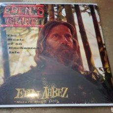 Discos de vinilo: EDEN AHBEZ - NATURE BOY - EDEN'S ISLAND (THE MUSIC OF AN ENCHANTED ISLE) LP VINILO NUEVO PRECINTADO. Lote 163581400
