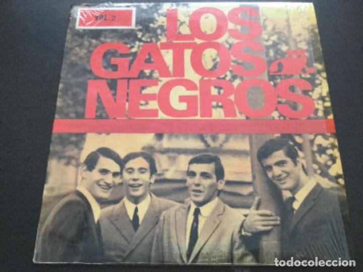 LOS GATOS NEGROS - VOL. 2 (Música - Discos - LP Vinilo - Grupos Españoles 50 y 60)