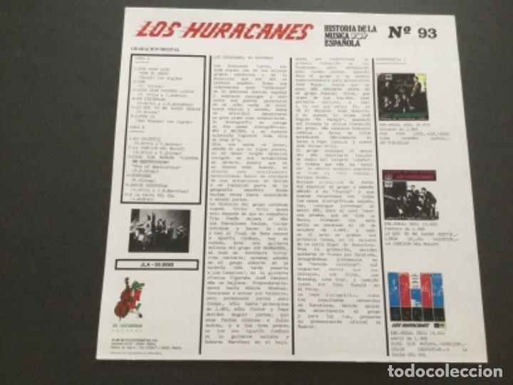 Discos de vinilo: Los Huracanes . Historia de la música pop, n 93 - Foto 2 - 163581906