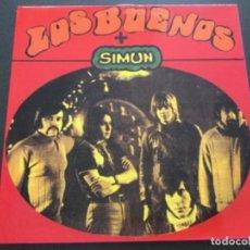 Discos de vinilo: LOS BUENOS + SIMUN . Lote 163582234