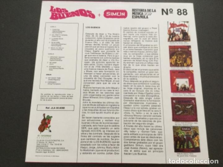Discos de vinilo: Los Buenos + Simun - Foto 2 - 163582234