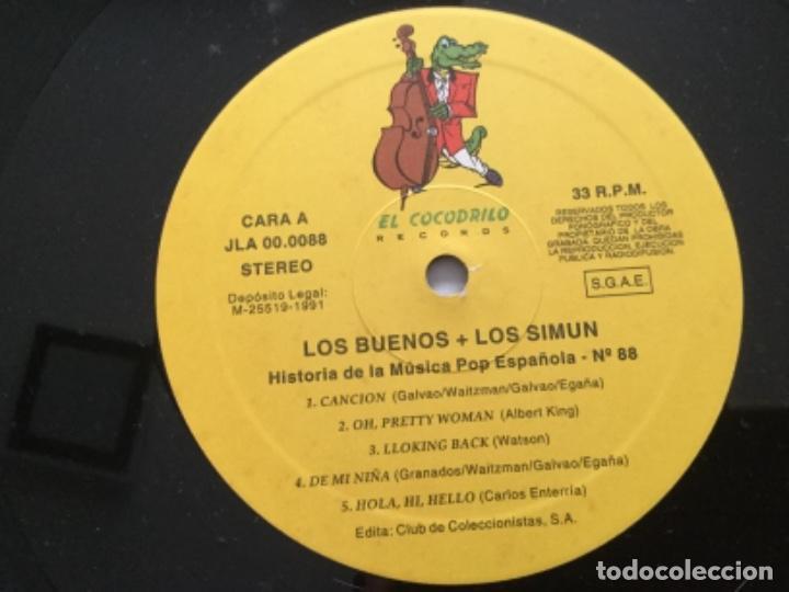 Discos de vinilo: Los Buenos + Simun - Foto 4 - 163582234