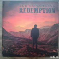 Discos de vinilo: JOE BONAMASSA -REDEMPTION- DOBLE LP PROVOGUE 2018 NUEVO. Lote 163585238