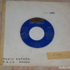 Discos de vinilo: TONY RONALD Y SUS KRONERS - TRUE FINE MAMA + 3 - EP SPAIN 1965-MUY RARO PROMOCIONAL. Lote 163586522