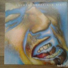 Discos de vinilo: JOE COCKER -SHEFFIELD STEEL- LP ISLAND 1982 ED. ESPAÑOLA I-204.668 MUY BUENAS CONDICIONES. . Lote 163590778