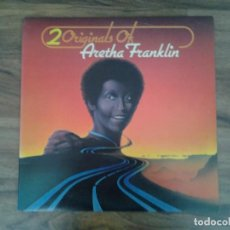 Discos de vinilo: ARETHA FRANKLIN -20 ORIGINALS OF- DOBLE LP ATLANTIC 1975 K 80007 GATEFOLD MUY BUENAS CONDICIONES. Lote 163592258