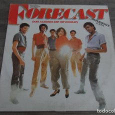 Discos de vinilo: FORECAST ‎– HAPPY DAYS (HIP HIP HOORAY). Lote 163592690