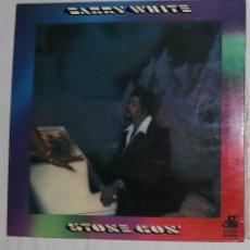 Discos de vinilo: DISCO VINILO LP STONE GON' - BARRY WHITE -. Lote 163598442