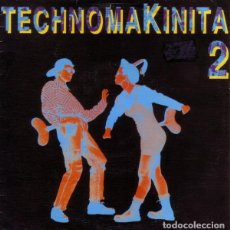 Discos de vinilo: TECHNOMAKINITA 2 (MIX VERSION DE QUIQUE TEJADA) SINGLE SIDED, PROMO SPAIN 1991. Lote 163605330