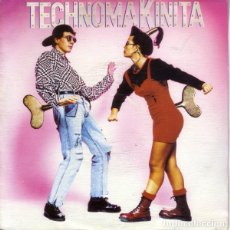 Discos de vinilo: TECHNOMAKINITA - SINGLESIDED PROMO, MIXED SPAIN 1990 . Lote 163608070