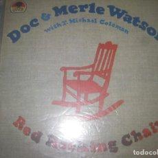 Discos de vinilo: DOC & MERLE WATSON WITH T. MICHAEL COLEMAN -(1981VEMSA ) - EDICION ESPAÑOLA. Lote 163610938
