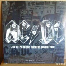 Discos de vinilo: AC/DC ---- LIVE AT PATRADISE THEATRE BOSTON 1978- NUEVO. Lote 163612938