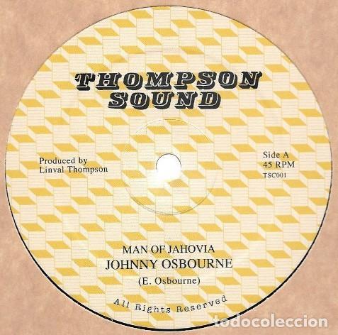 JOHNNY OSBOURNE - MAN OF JAHOVIAH - 12'' [IROKO RECORDS, 2018] (Música - Discos - Singles Vinilo - Reggae - Ska)