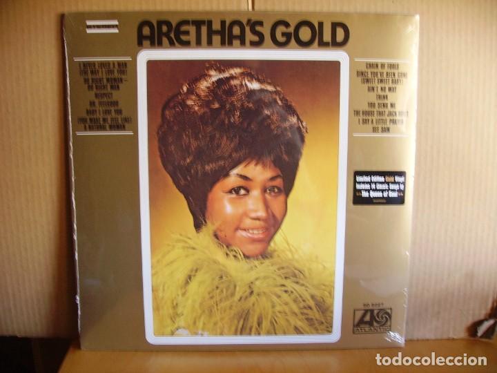 ARETHA FRANKLIN ---- GOLD - NUEVO (Música - Discos - LP Vinilo - Funk, Soul y Black Music)