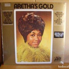 Discos de vinilo: ARETHA FRANKLIN ---- GOLD - NUEVO. Lote 163619322