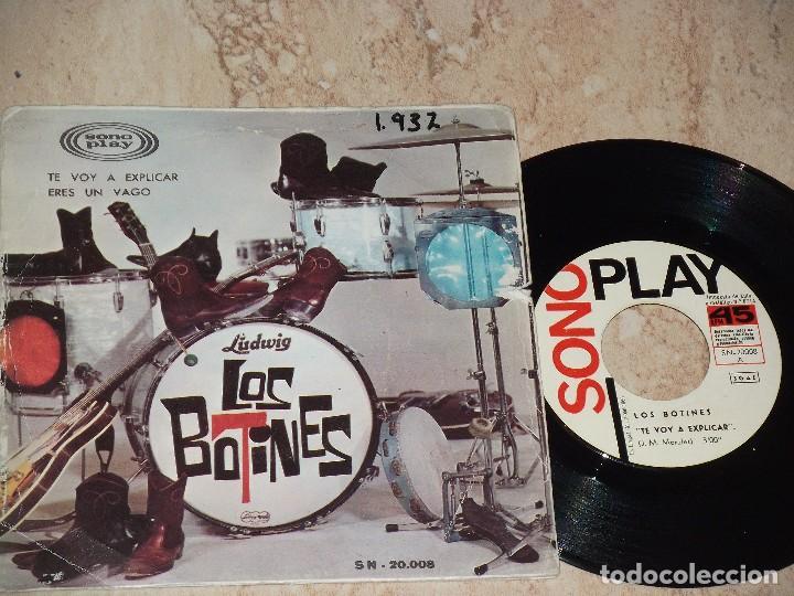LOS BOTINES - TE VOY A EXPLICAR / ERES UN VAGO (SINGLE SONOPLAY 1966) CAMILO SESTO (Música - Discos - Singles Vinilo - Grupos Españoles 50 y 60)