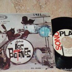Discos de vinilo: LOS BOTINES - TE VOY A EXPLICAR / ERES UN VAGO (SINGLE SONOPLAY 1966) CAMILO SESTO. Lote 163682622