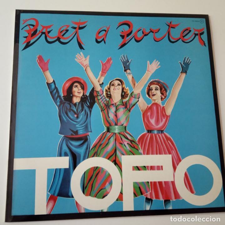 TOPO- PRET A PORTER- LP PROMOCIONAL 1980 + ENCARTE- COMO NUEVO. (Música - Discos - LP Vinilo - Grupos Españoles de los 70 y 80)