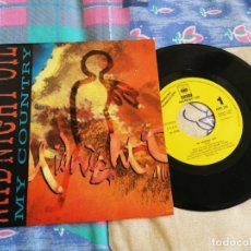 Discos de vinilo: MIDNIGHT OIL MY COUNTRY SINGLE VINILO PROMOCIONAL AÑO 1993 CONTIENE 1 TEMA. Lote 243306455