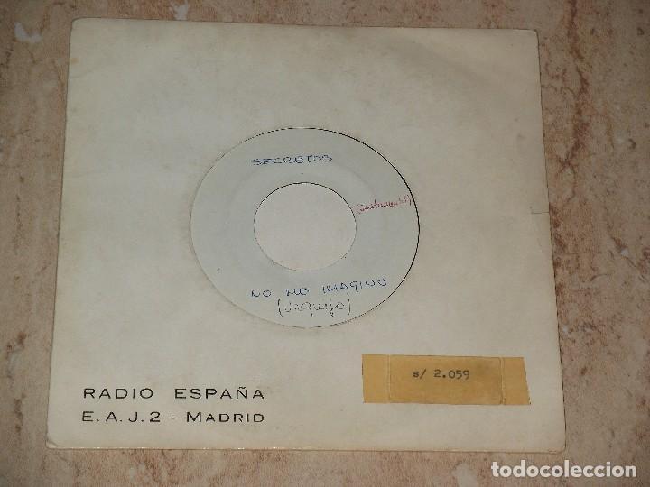 LOS SECRETOS SINGLE NO ME IMAGINO/NO ME IMAGINO (INSTRUM) PRIMER TESST SUPER RARO PARA RADIO ESPAÑA (Música - Discos - Singles Vinilo - Grupos Españoles de los 70 y 80)