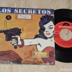 Discos de vinilo: LOS SECRETOS 7* / NO ME IMAGINO/ NO ME IMAGINO (INSTRUM) / MOVIDA POLYDOR-1983-. Lote 163723566