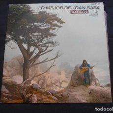 Discos de vinilo: LP JOAN BAEZ // LO MEJOR DE JOAN BAEZ. Lote 163724978