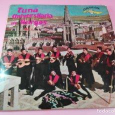 Discos de vinilo: VINILO-SINGLE-TUNA UNIVERSITARIA DE BURGOS-VOLUMEN 3-1962-CUBALEGRE-BUEN ESTADO-VER FOTOS. Lote 163731446