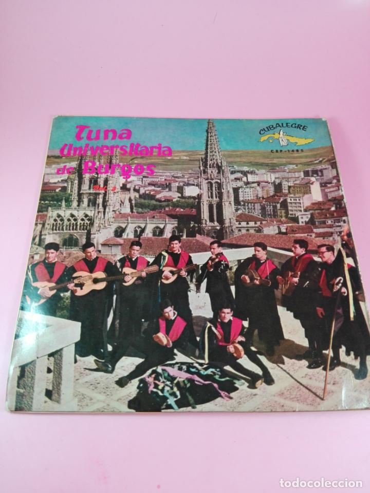 Discos de vinilo: VINILO-SINGLE-TUNA UNIVERSITARIA DE BURGOS-VOLUMEN 3-1962-CUBALEGRE-BUEN ESTADO-VER FOTOS - Foto 4 - 163731446