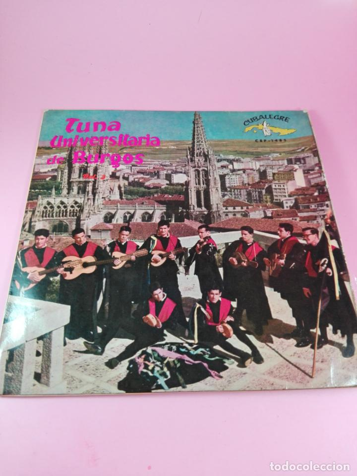 Discos de vinilo: VINILO-SINGLE-TUNA UNIVERSITARIA DE BURGOS-VOLUMEN 3-1962-CUBALEGRE-BUEN ESTADO-VER FOTOS - Foto 5 - 163731446