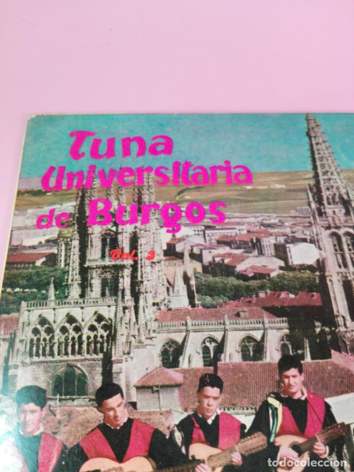 Discos de vinilo: VINILO-SINGLE-TUNA UNIVERSITARIA DE BURGOS-VOLUMEN 3-1962-CUBALEGRE-BUEN ESTADO-VER FOTOS - Foto 6 - 163731446