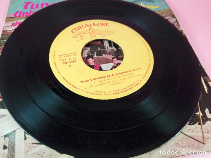 Discos de vinilo: VINILO-SINGLE-TUNA UNIVERSITARIA DE BURGOS-VOLUMEN 3-1962-CUBALEGRE-BUEN ESTADO-VER FOTOS - Foto 11 - 163731446