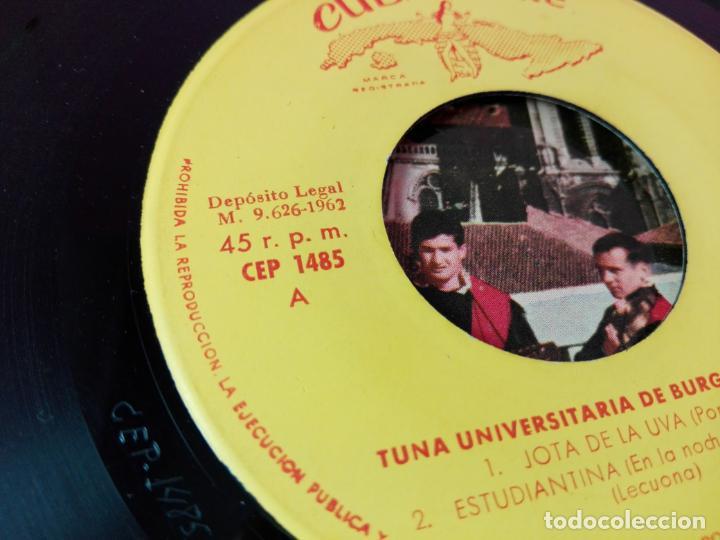 Discos de vinilo: VINILO-SINGLE-TUNA UNIVERSITARIA DE BURGOS-VOLUMEN 3-1962-CUBALEGRE-BUEN ESTADO-VER FOTOS - Foto 12 - 163731446