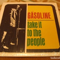 Discos de vinilo: GASOLINE LP 10 PULGADAS TAKE IT TO THE PEOPLE ESTRUS ORIGINAL USA 2002. Lote 163732674