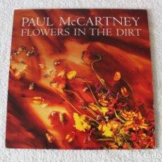 Discos de vinilo: PAUL MCCARTNEY: FLOWERS IN THE DIRT - LP. EMI 1989. (CON ENCARTES). Lote 163747786